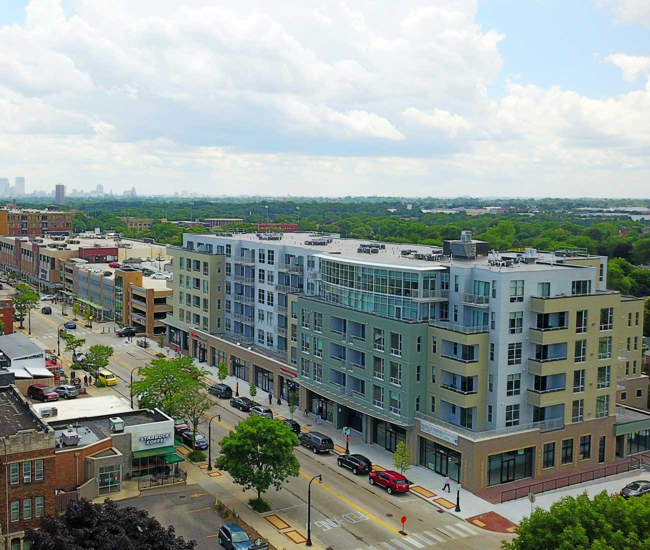 Street View of Mosaic Apartments in Shorewood